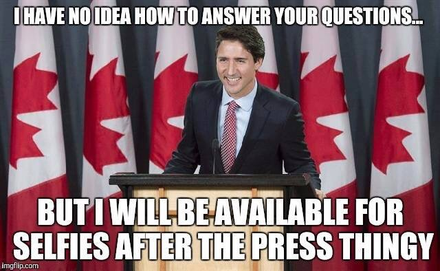 trudeau no idea