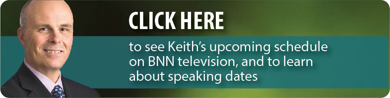 Click Here to see Keith Richards' (Portfolio Manager, Technical Analyst) upcoming schedule on BNN television